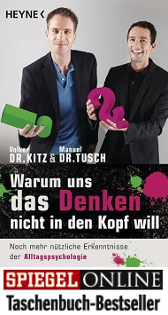 Warum uns das Denken nicht in den Kopf will von Volker Kitz